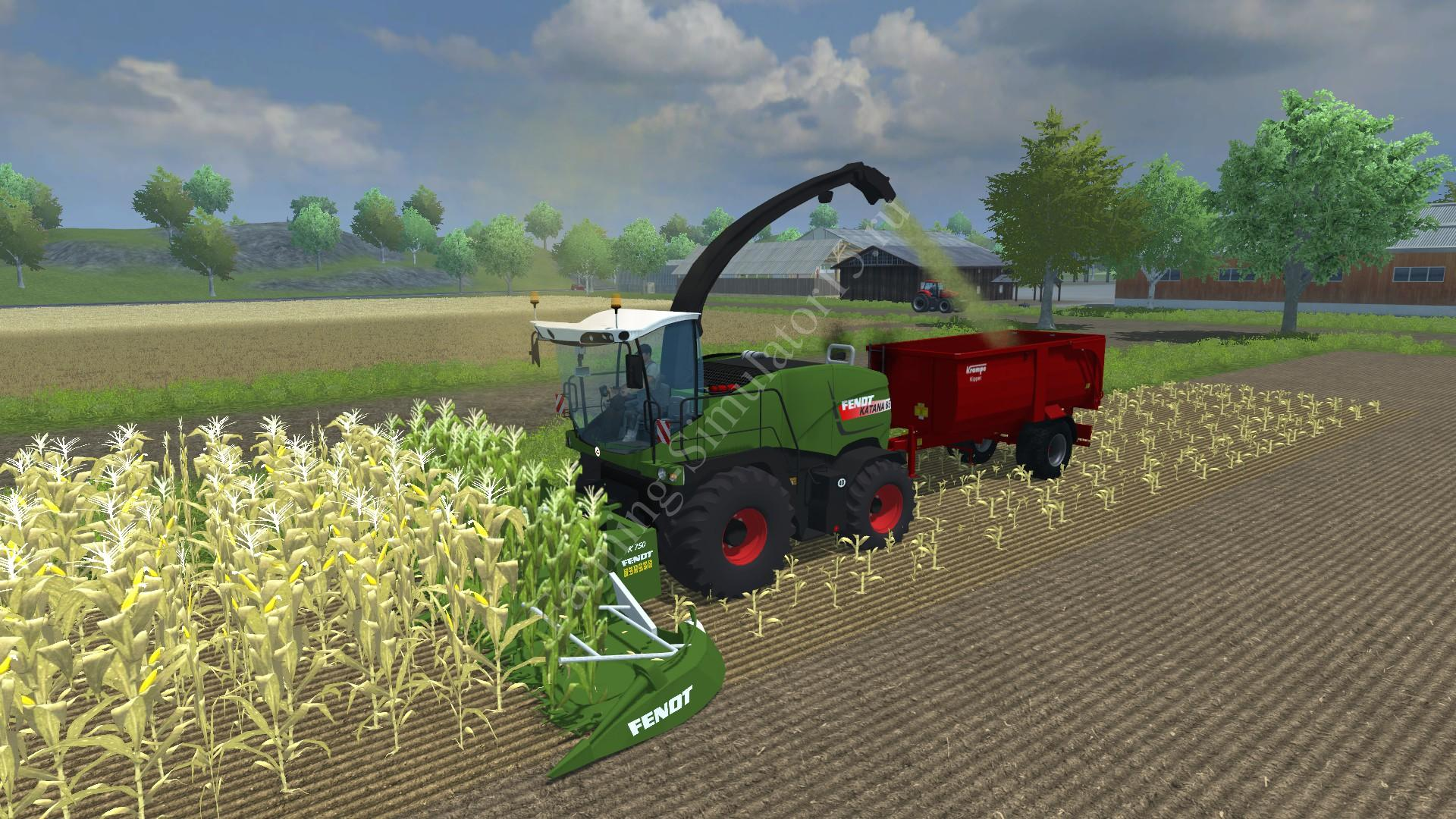 Мод комбайна Fendt Katana 65 v 1.0 Farming Simulator 2013, Farming Simulator 13