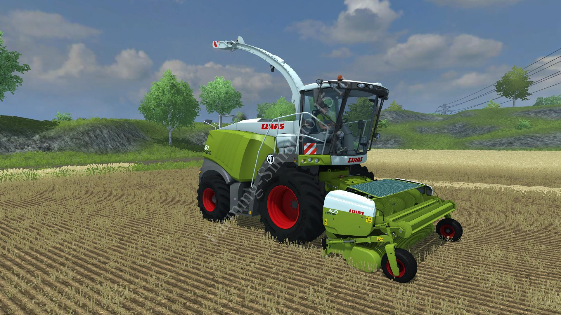 Мод подборщика Claas Pick UP 300 v 1.0 Farming Simulator 2013, Farming Simulator 13