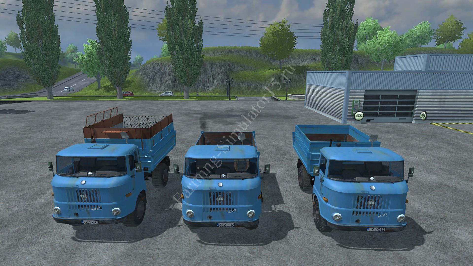 Мод грузовика IFA W50 v 3.0 Farming Simulator 2013, Farming Simulator 13