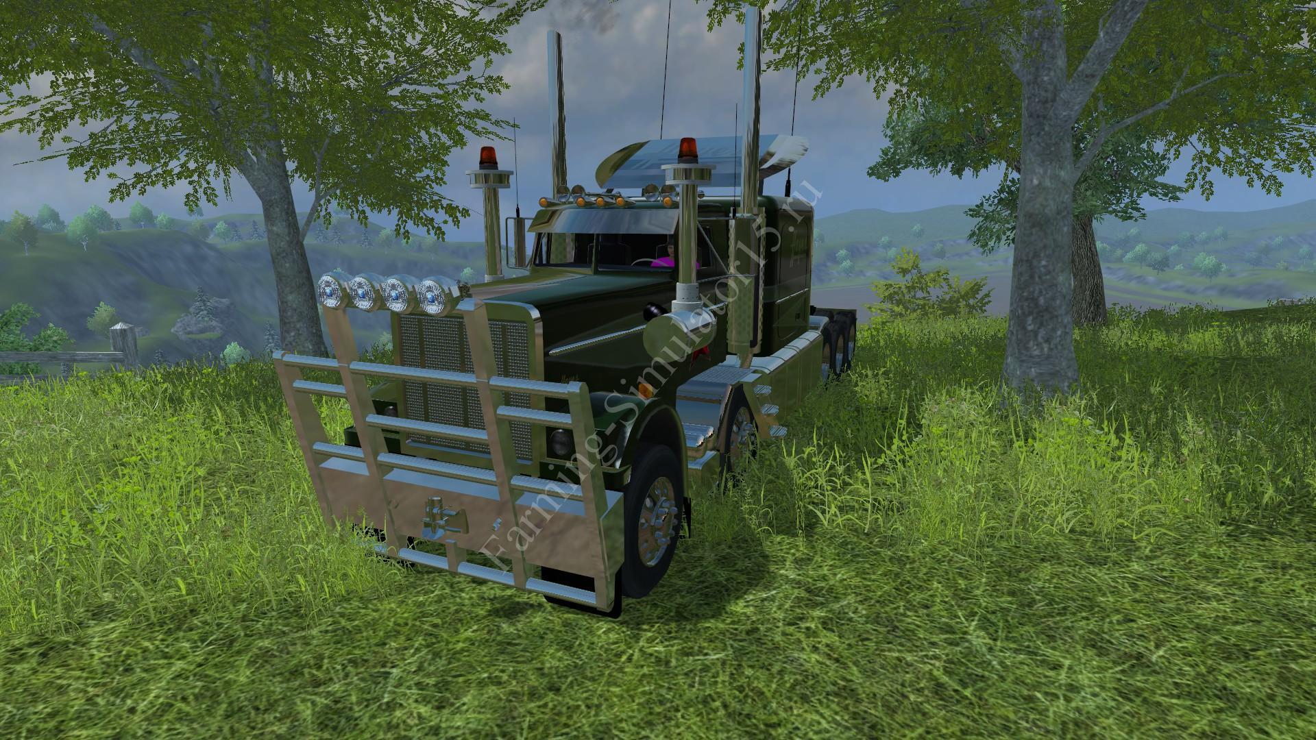 Мод грузовика Hayes Road Train v 1.0 Farming Simulator 2013, Farming Simulator 13
