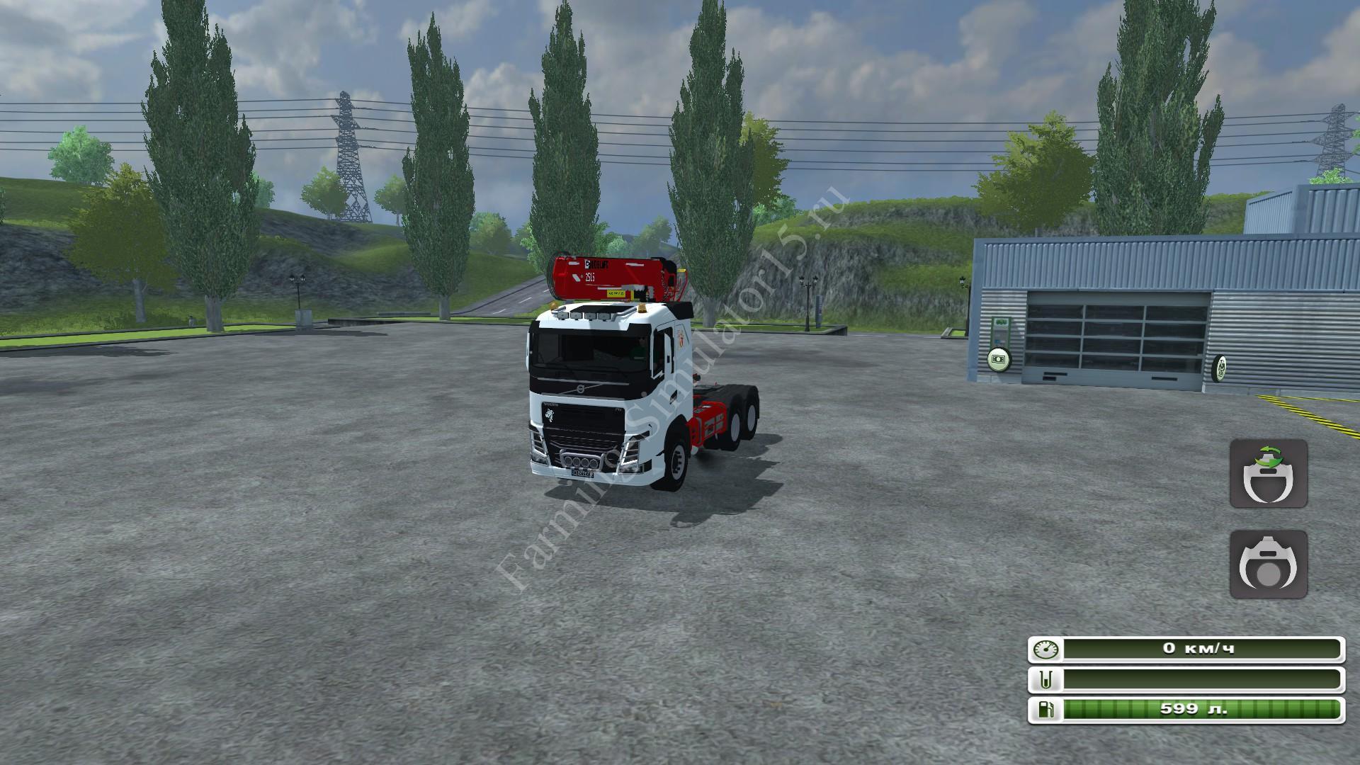 Мод грузовика Volvo FH 750 Grumier LOGBOY v 2.2 Farming Simulator 2013, Farming Simulator 13