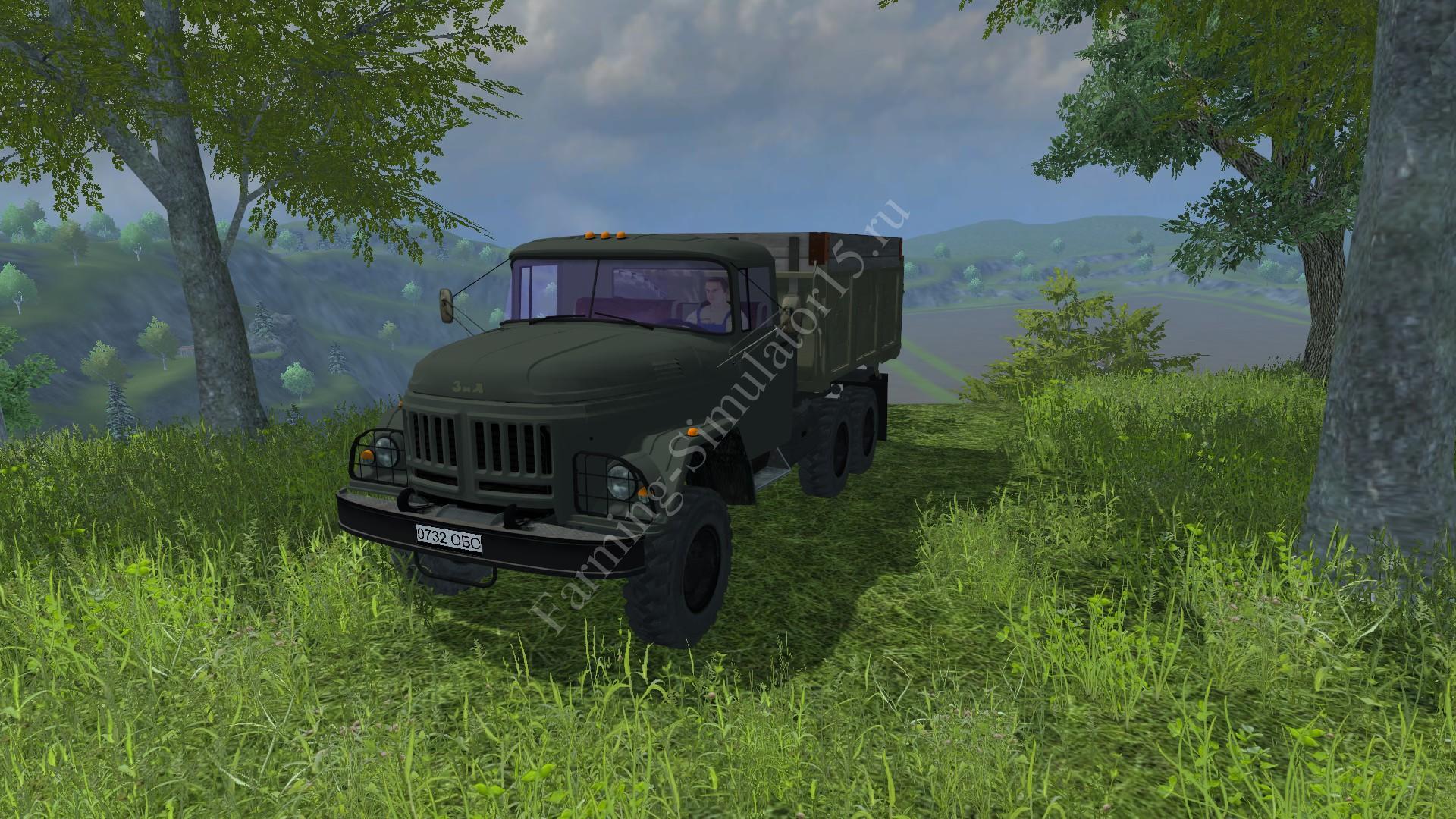 Мод грузовика ZiL 131 Amur v 1.0 Farming Simulator 2013, Farming Simulator 13