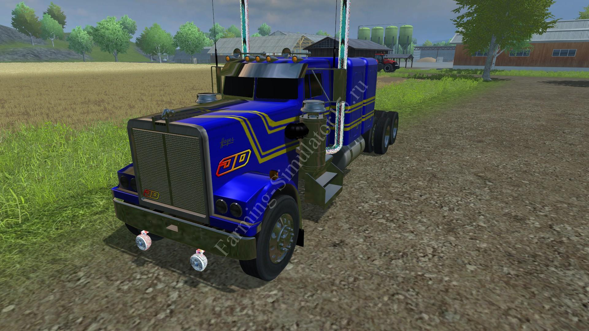 Мод грузовика Hayes Clipper 2 camas 1974 v 1.0 Farming Simulator 2013, Farming Simulator 13