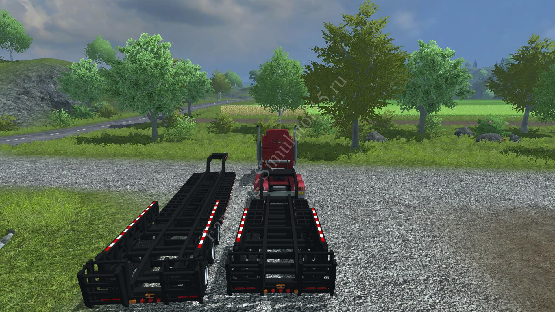 Мод трала Trailtech CT3200 and CT220TT v 1.0 Farming Simulator 2013, Farming Simulator 13