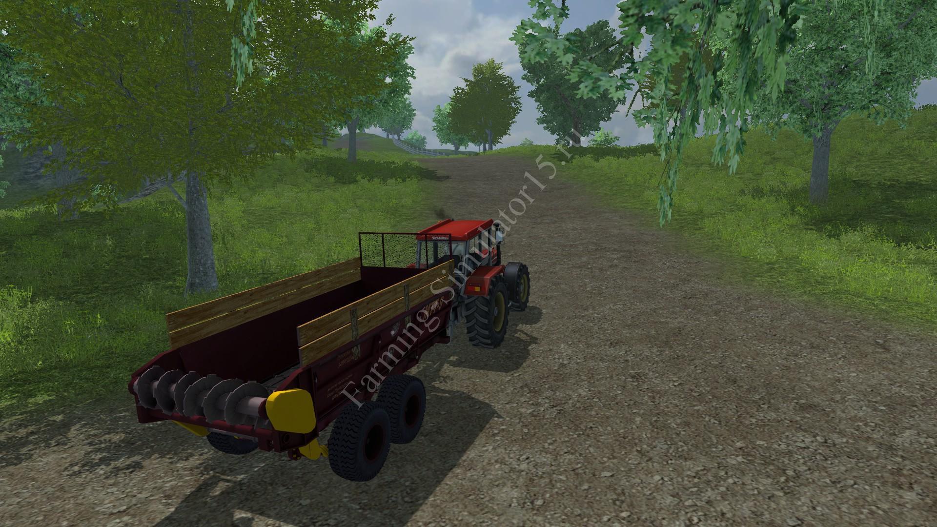 Мод прицепа для удобрений MTT 9 v 1.0 Farming Simulator 2013, Farming Simulator 13