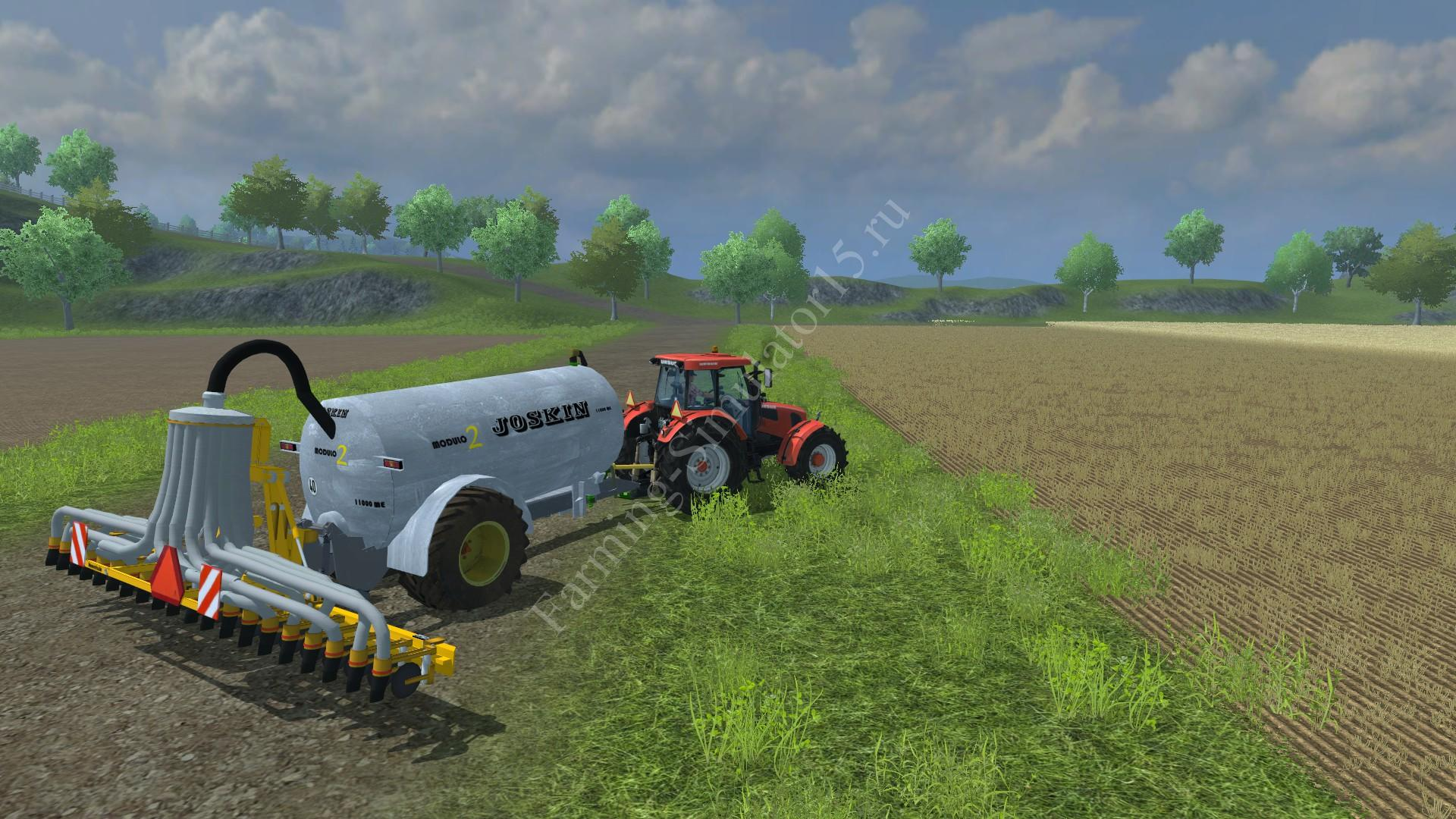 Мод прицепа для навоза Joskin modulo 2 v 1.0 Farming Simulator 2013, Farming Simulator 13