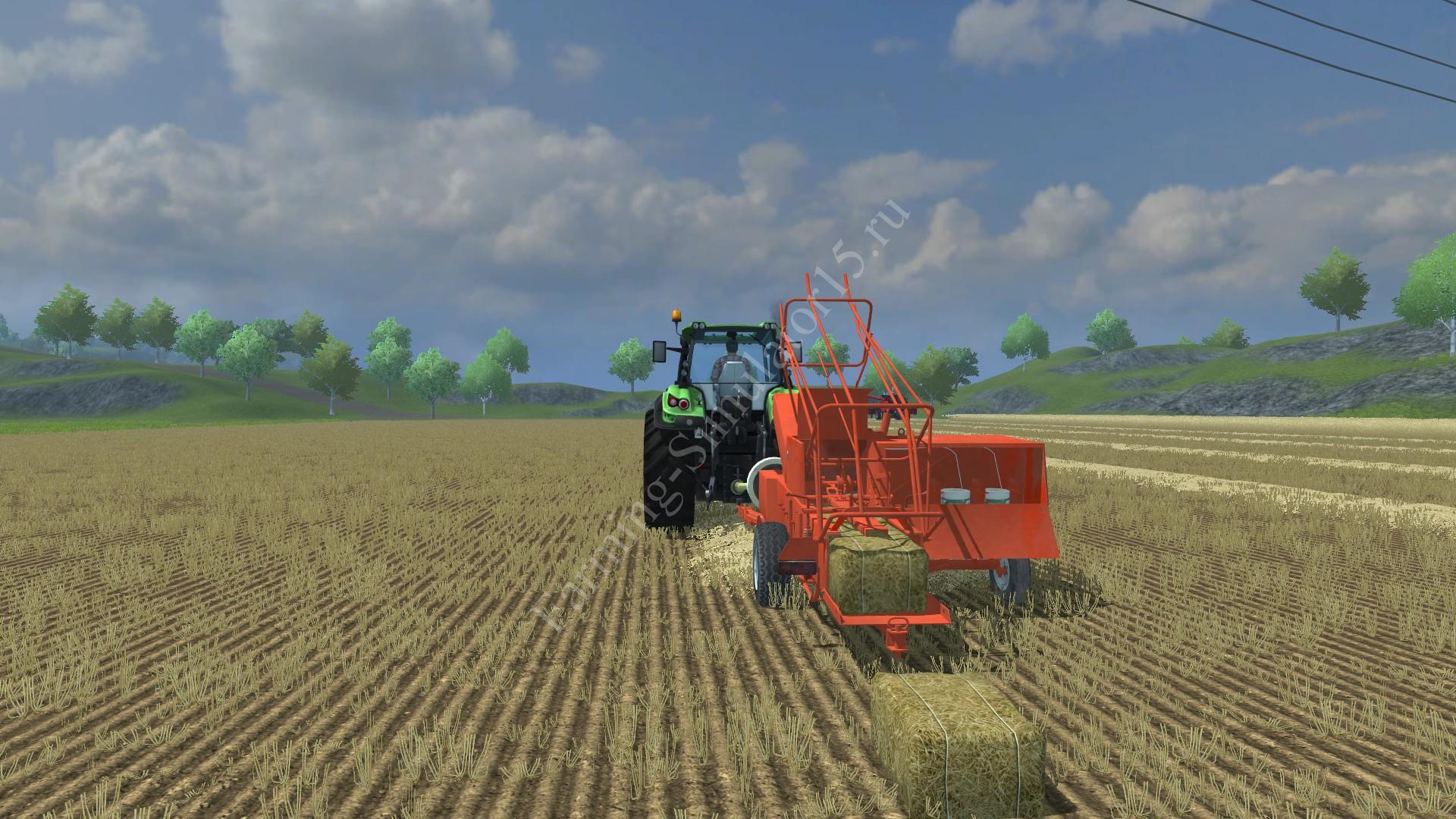 Мод тюкопресса Sipma Z224 1 v 2.1 Washable Farming Simulator 2013, Farming Simulator 13