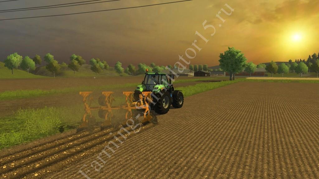 Мод плуга Moro RAPTOR QRV 20A v 1.0 More Realistic Farming Simulator 2013, Farming Simulator 13