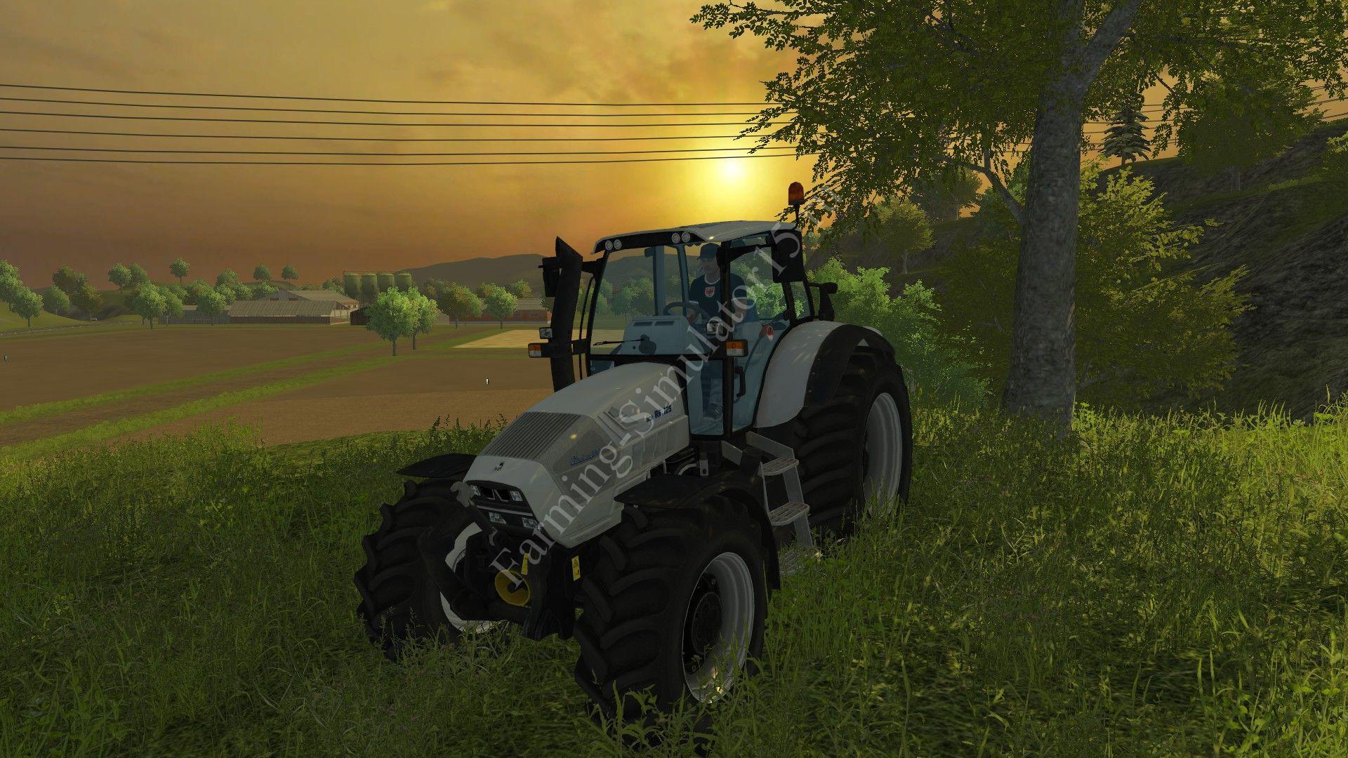 Мод трактора Lamborghini R6 125 v 1.0 More Realistic Farming Simulator 2013, Farming Simulator 13