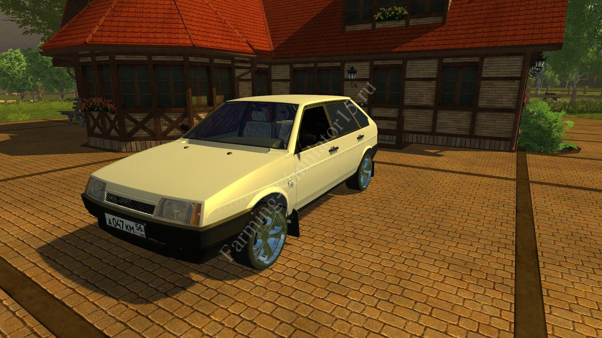 Мод легкового авто VAZ 21093 v 1.0 More Realistic Farming Simulator 2013, Farming Simulator 13