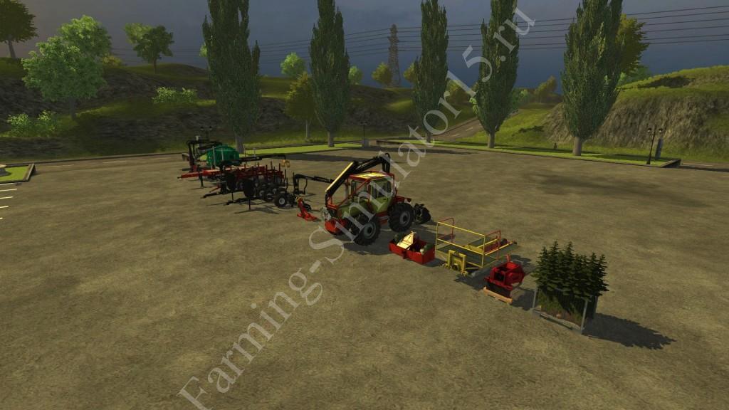Forest Mod v 1.0 More Realistic Farming Simulator 2013, Farming Simulator 13