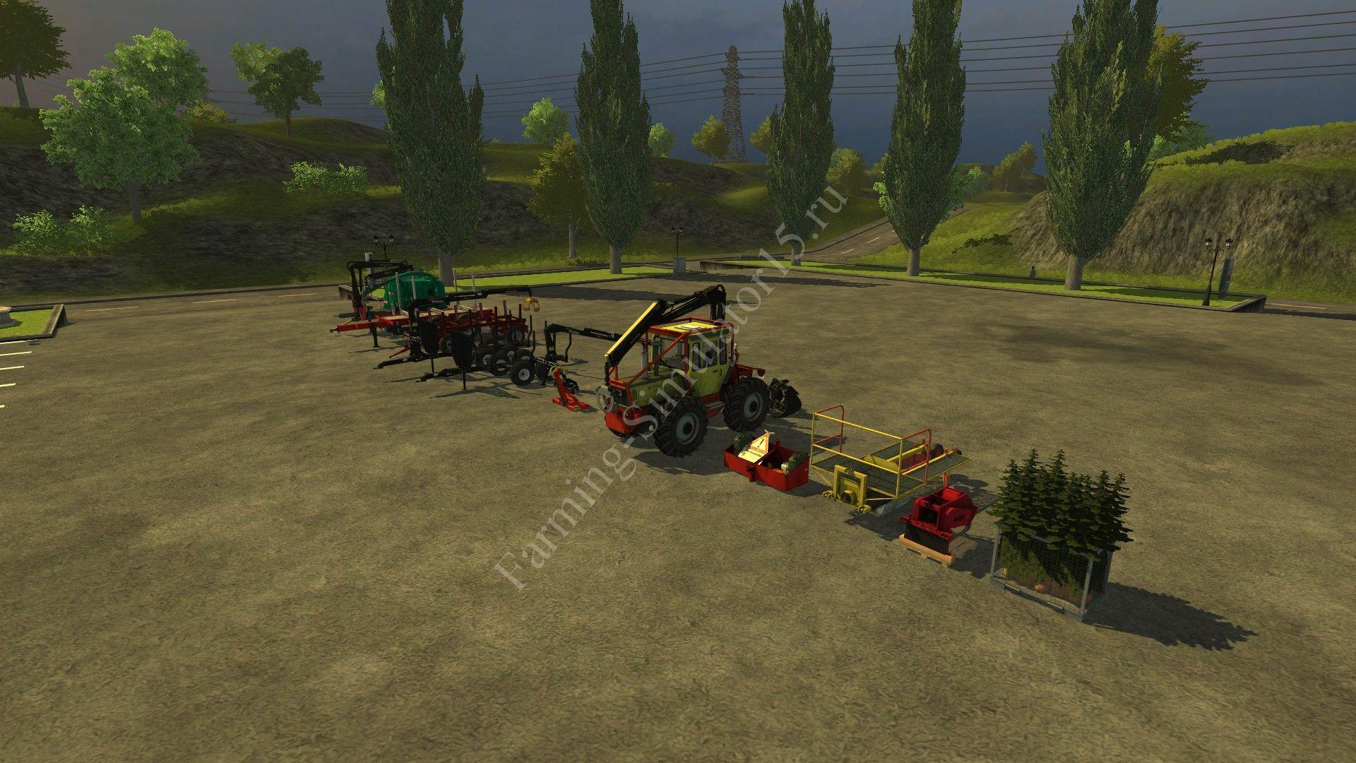 Forest Mod v 1.0 More Realistic Farming Simulator 2013, Farming Simulator 13