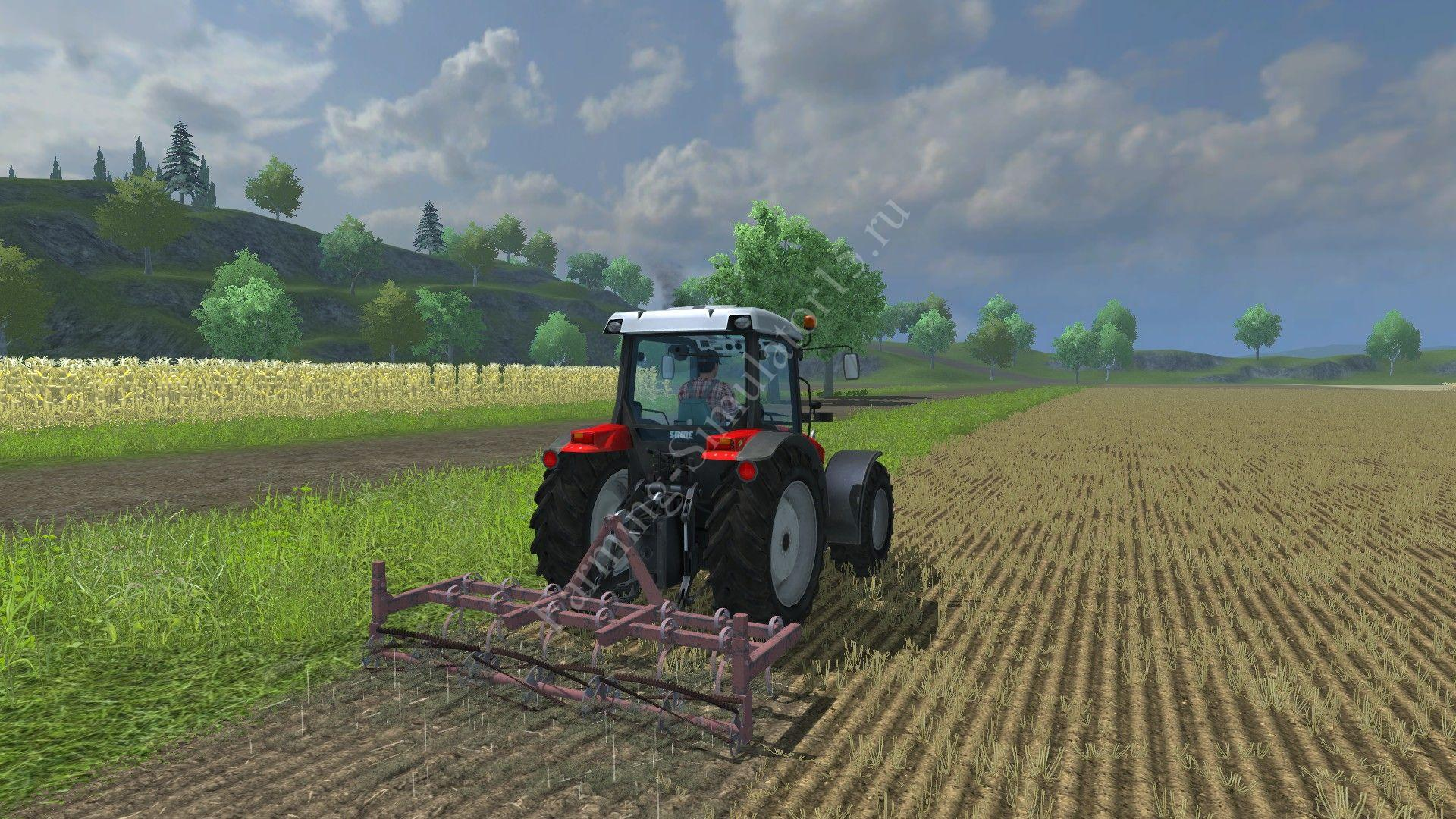 Скачать courseplay v3. 40 русский для farming simulator 2013.