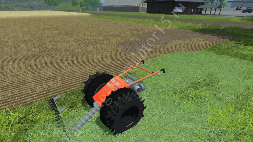 Мод газонокосилки Bucher M 300 v 1.0 Farming Simulator 2013, Farming Simulator 13