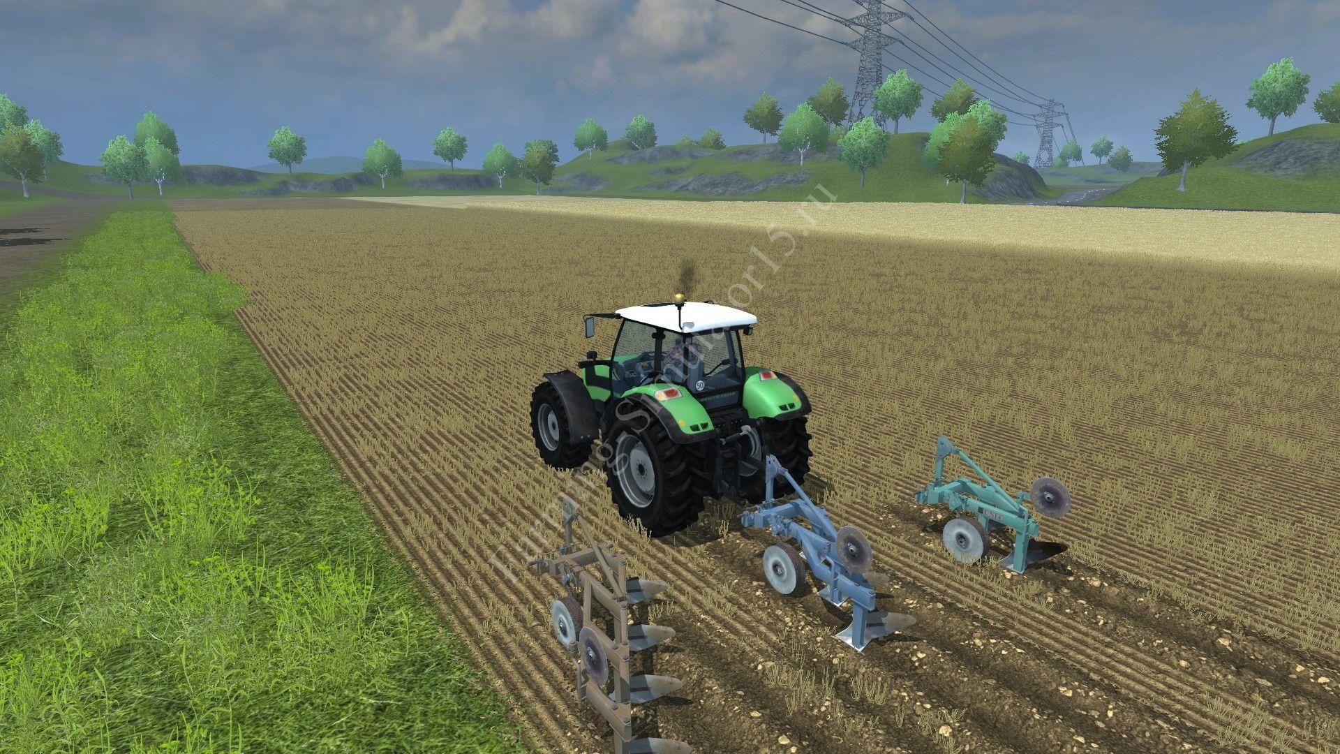 Мод плуга Unia plow Pack v 1.0 Farming Simulator 2013, Farming Simulator 13