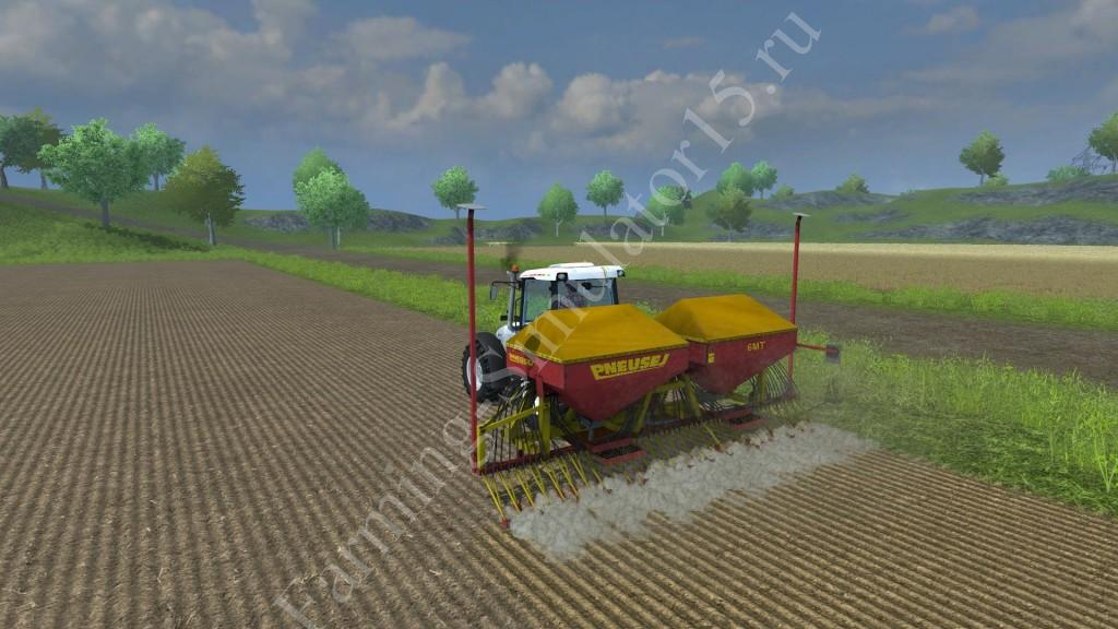 Мод сеялки PNEUSEJ 6MT v 1.0 Farming Simulator 2013, Farming Simulator 13