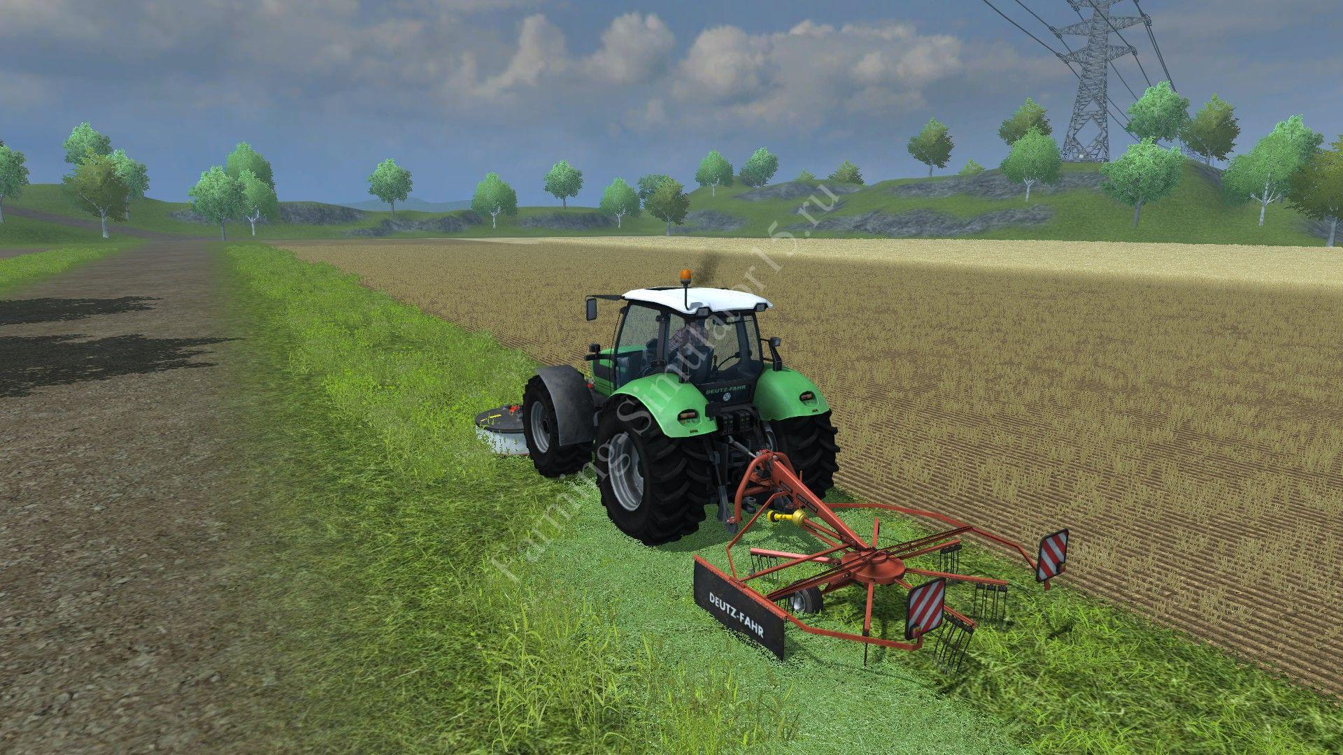 Мод ворошилки Fahr KS 85 DN v 1.0 Farming Simulator 2013, Farming Simulator 13
