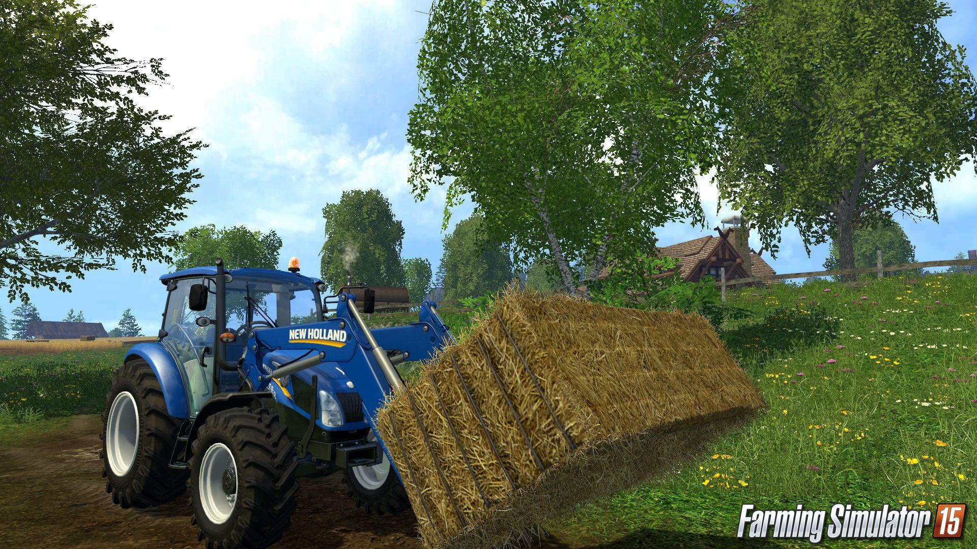Новое видео GamePlay Farming Simulator 2015, Farming Simulator 15