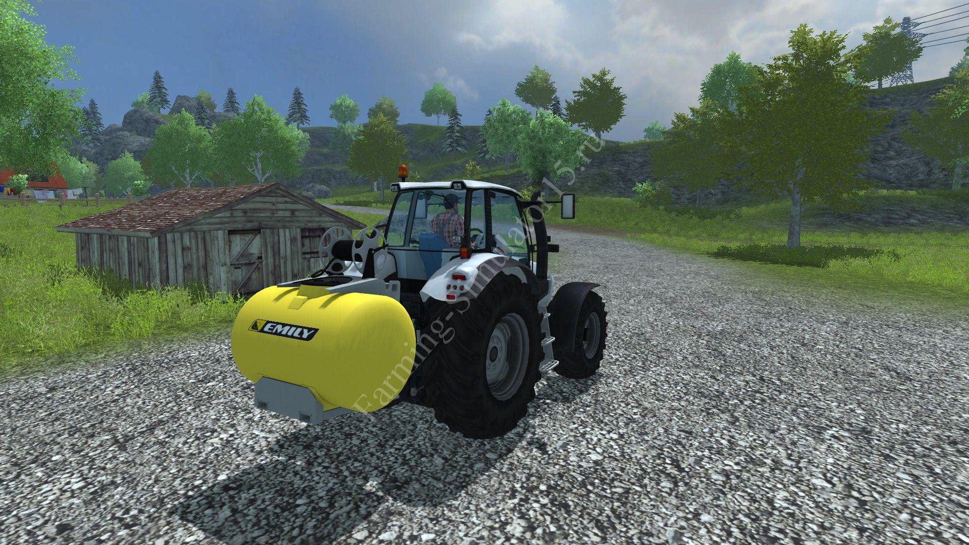 Мод мойки Laveur car porter Emily v 1.0 Farming Simulator 2013, Farming Simulator 13