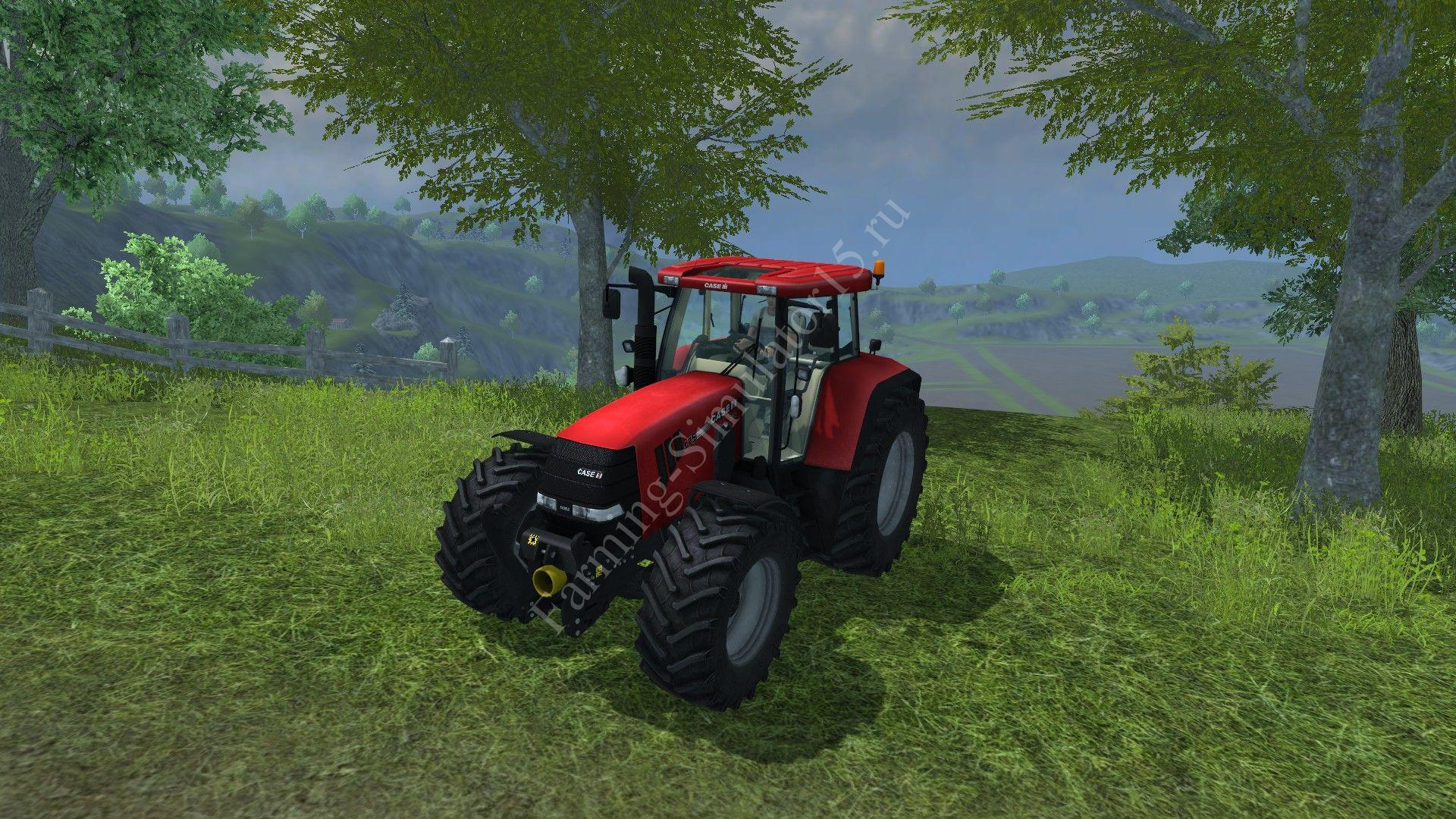 Мод трактора CASE 175 CVX v 4.0 Farming Simulator 2013, Farming Simulator 13