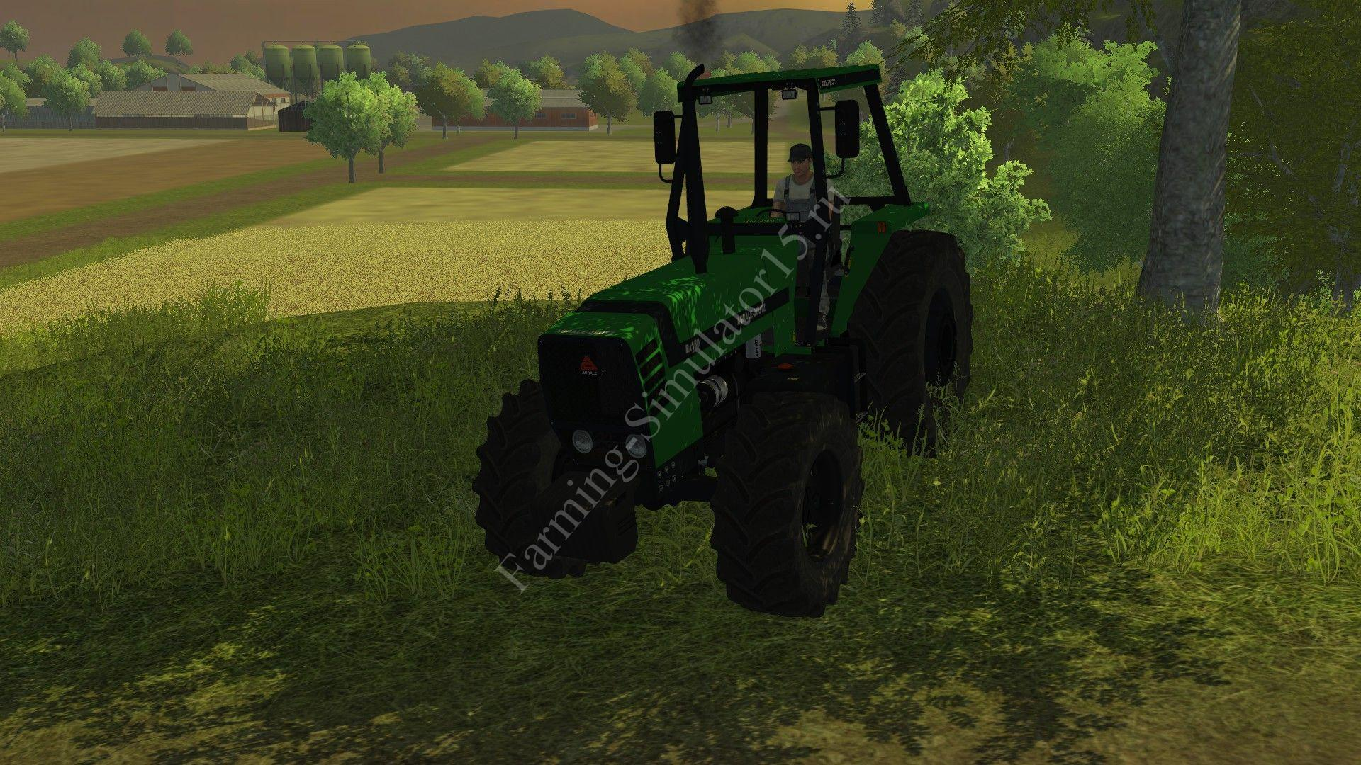 Мод трактора DEUTZ Agrale BX 4150 v 1.0 Farming Simulator 2013, Farming Simulator 13