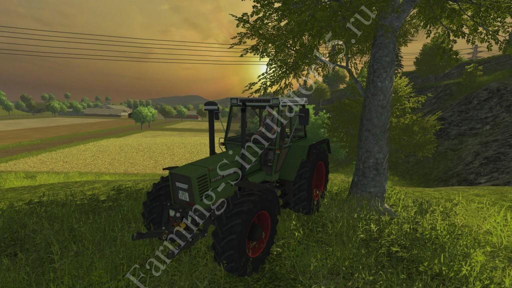 Мод трактора Fendt Favorit 615 LSA Turbomatik v 3.0 Farming Simulator 2013, Farming Simulator 13