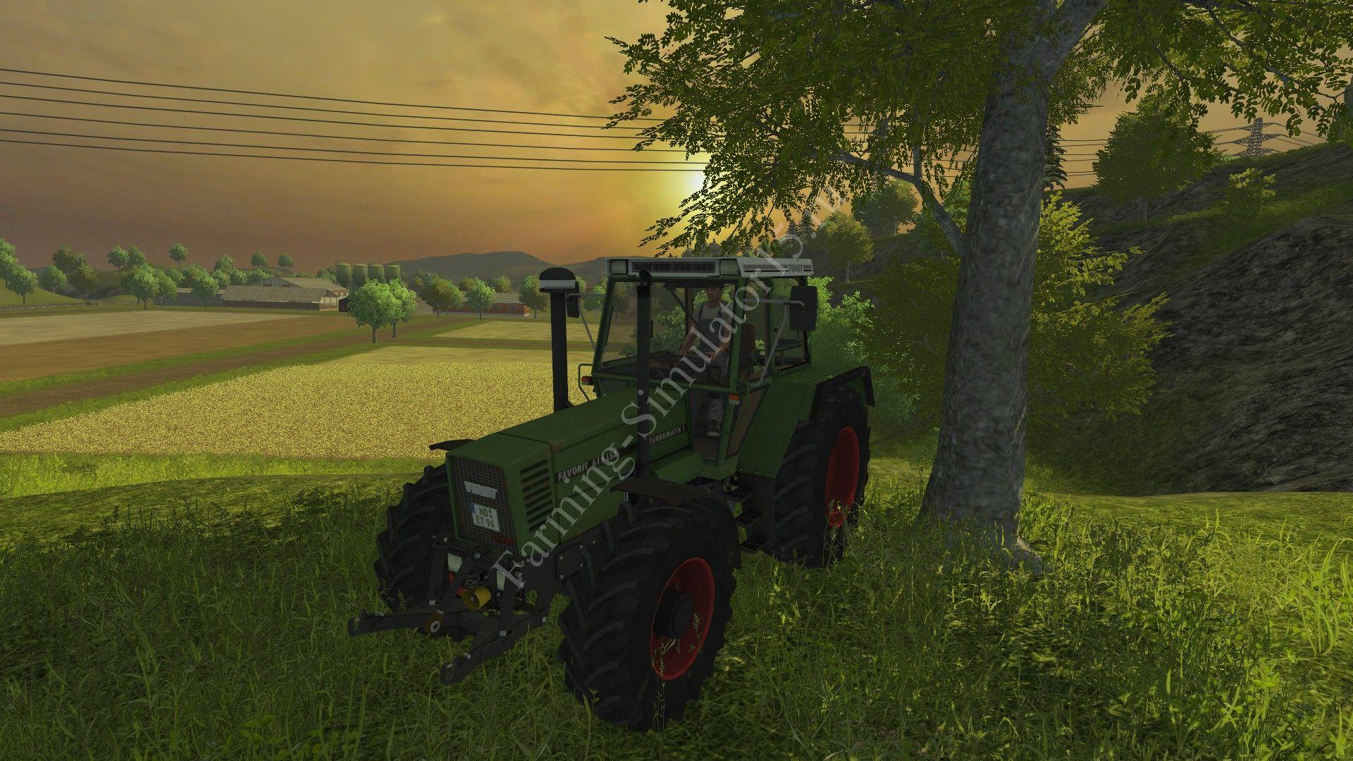 Мод трактора Fendt Favorit 615 LSA Turbomatik v 3.0 Farming Simulator 2013, Farming Simulator 13