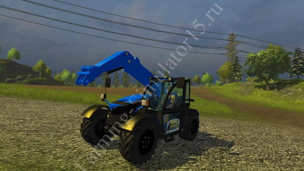 Мод погрузчика New Holland Chargeuse v 2.0 Farming Simulator 2013, Farming Simulator 13