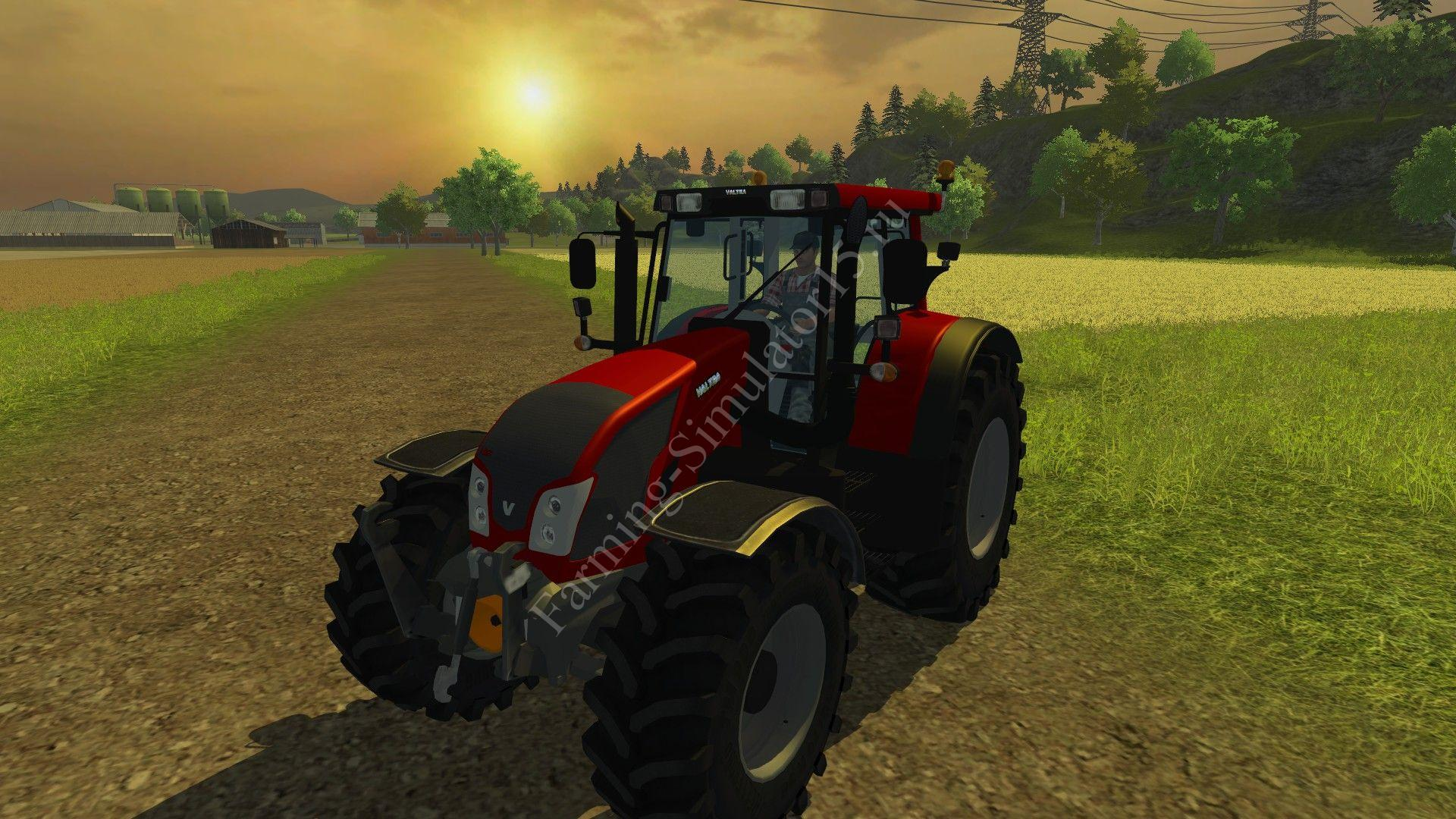 Мод трактора Valtra N163 v 2.2 Farming Simulator 2013, Farming Simulator 13