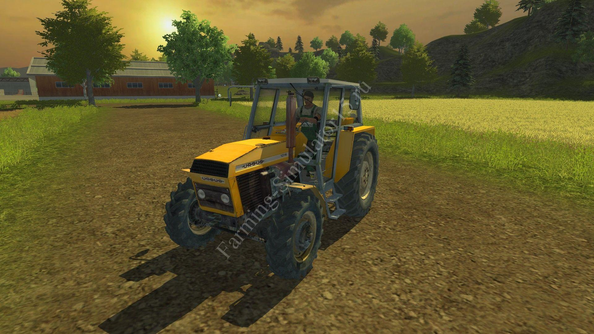 Мод трактора Ursus 1014 v 1.0 Farming Simulator 2013, Farming Simulator 13