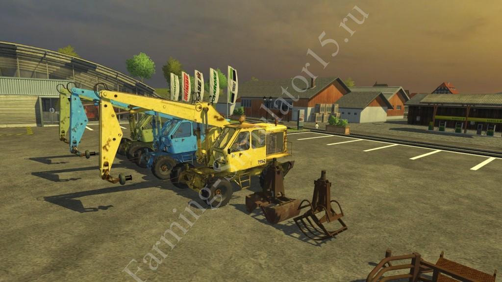 Скачать мод экскаватор для farming simulator 2013