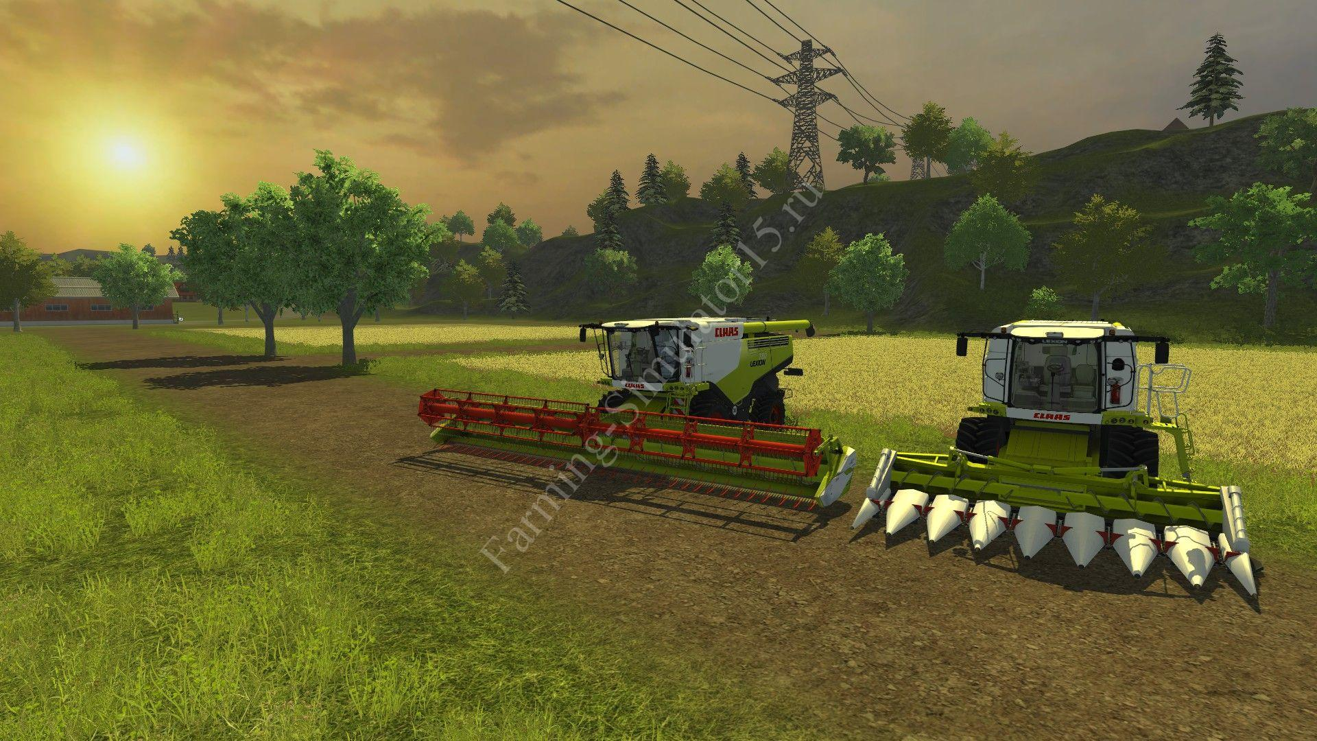 Мод комбайна CLAAS Lexion 780 v 2.0 Farming Simulator 2013, Farming Simulator 13