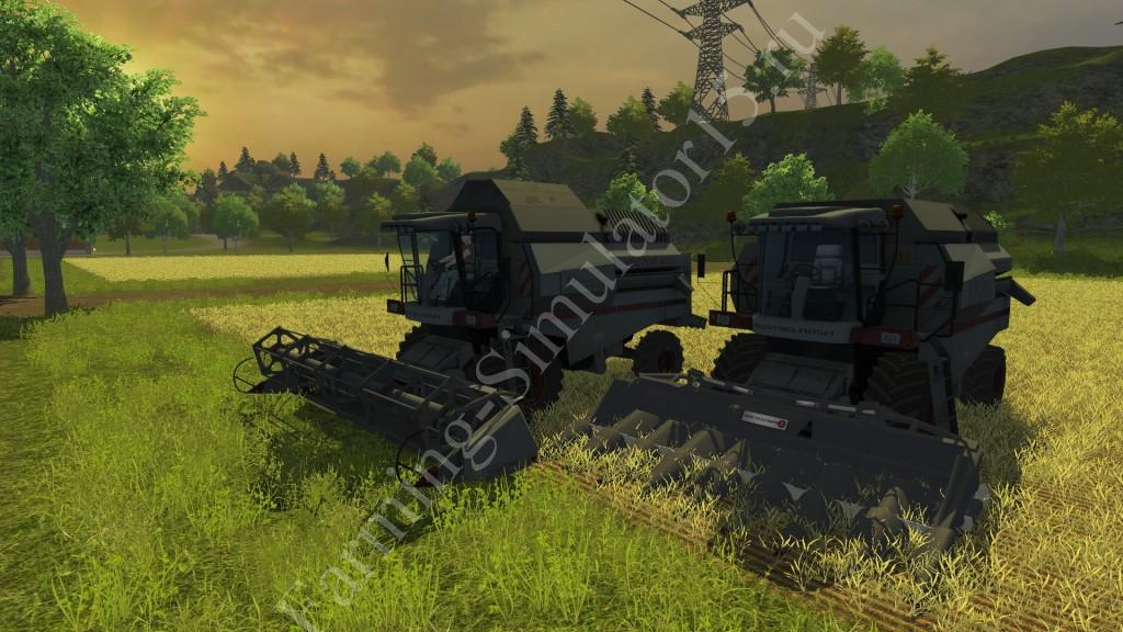 Мод комбайна Vector 410 v 1.0 Farming Simulator 2013, Farming Simulator 13