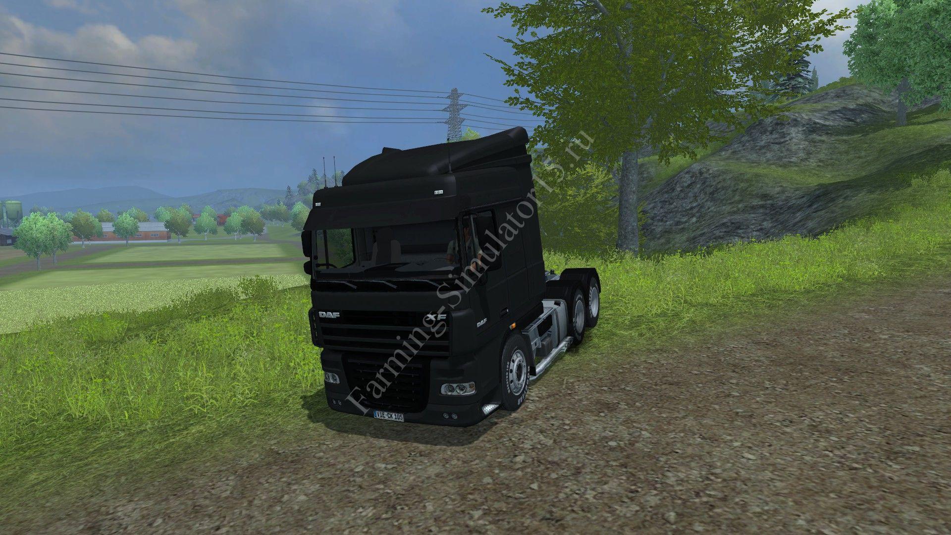 Мод грузовика Daf XF 105 510 v 1.1 Farming Simulator 2013, Farming Simulator 13