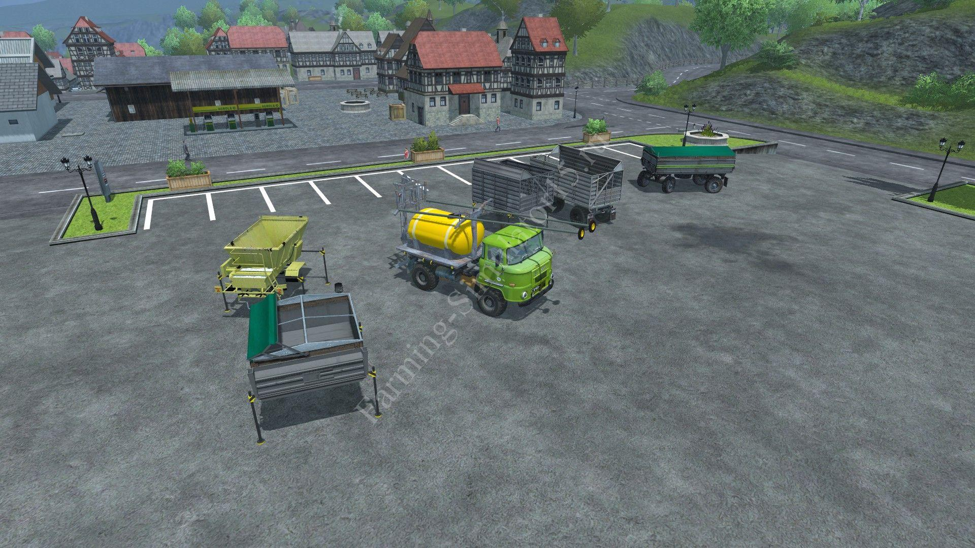 Мод грузовика IFA L60 swap bodies v 1.0 Farming Simulator 2013, Farming Simulator 13