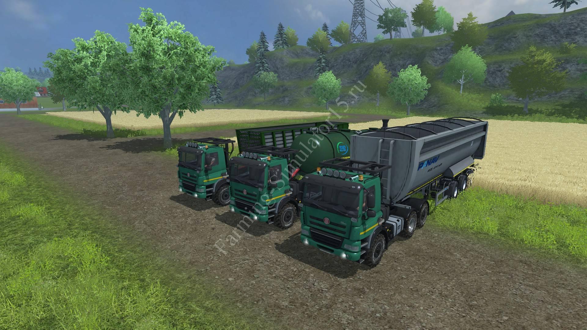 Мод грузовика TATRA 158 Phoenix Agro Truck v 1.1 Farming Simulator 2013, Farming Simulator 13
