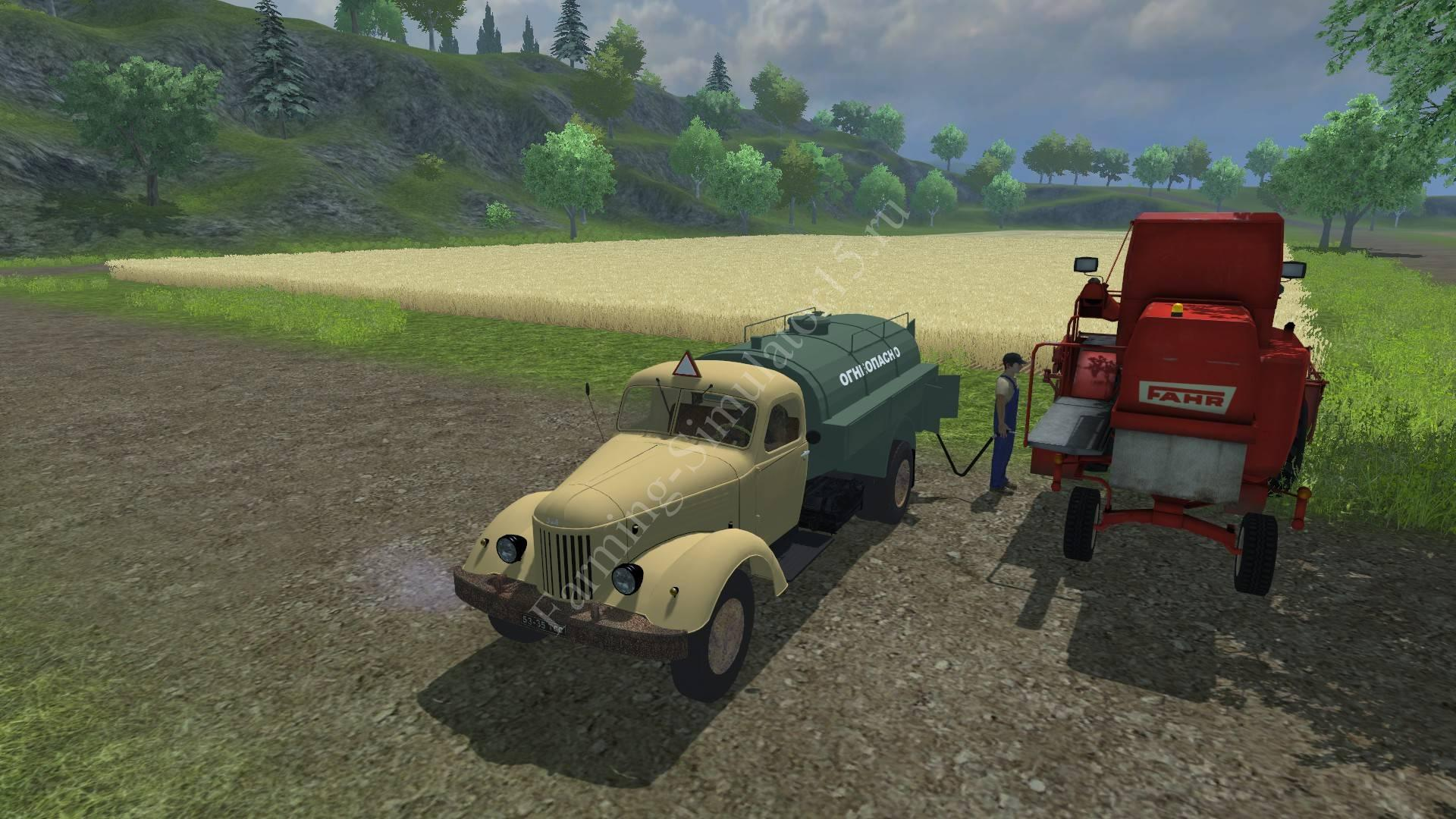 Мод грузовика ZiL TZ 150 v 1.2 Farming Simulator 2013, Farming Simulator 13