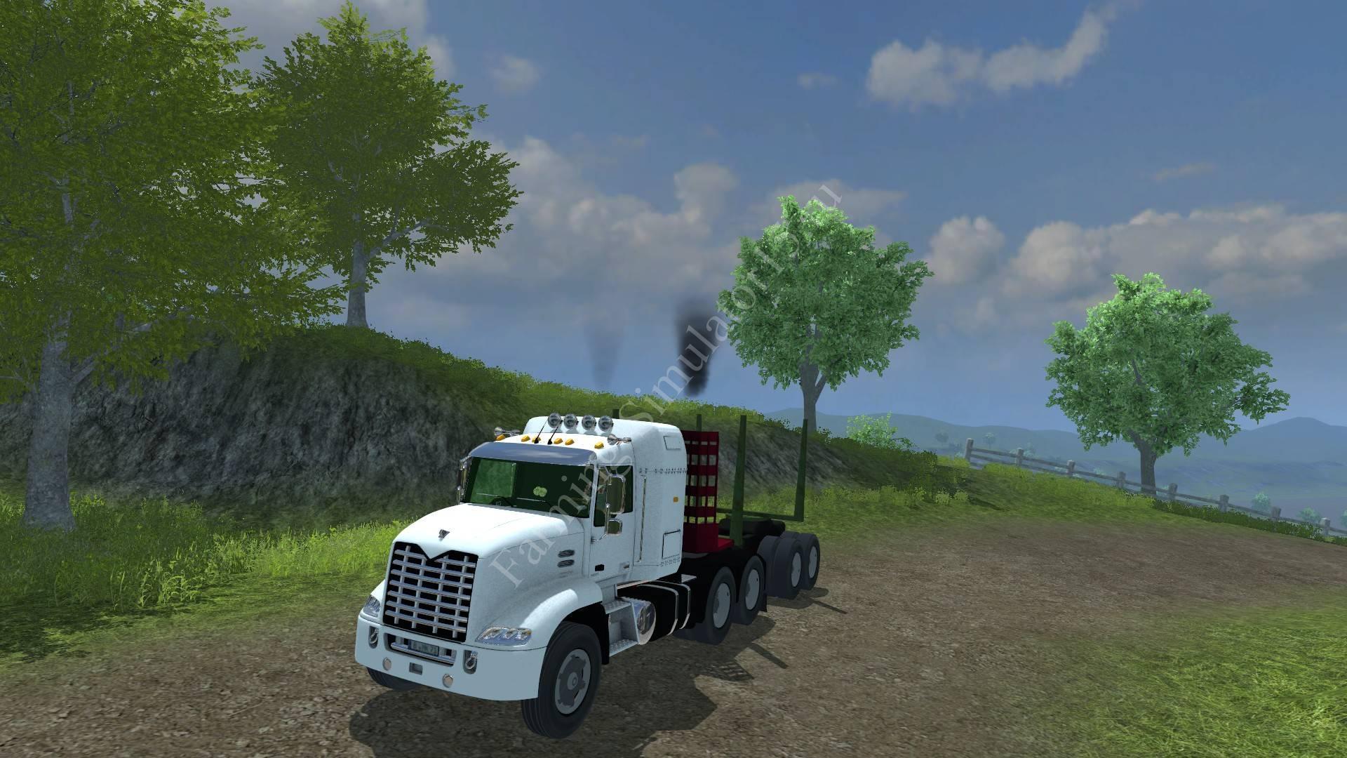 Мод грузовика Mack 803 Forest v 1.0 Farming Simulator 2013, Farming Simulator 13