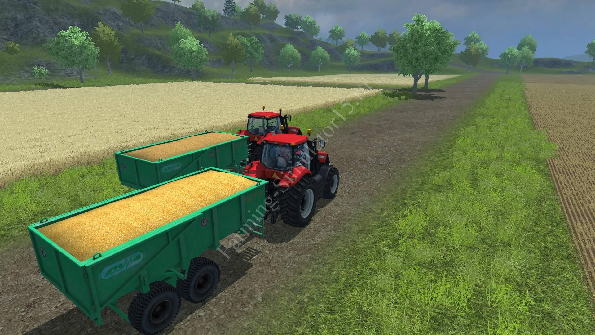 Мод прицепа ПСТ PST 9 v1 Farming Simulator 2013, Farming Simulator 13