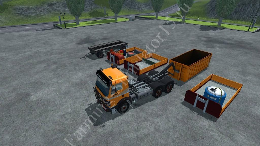 Мод прицепа MB SK 2638 HKL v 1.0 Farming Simulator 2013, Farming Simulator 13