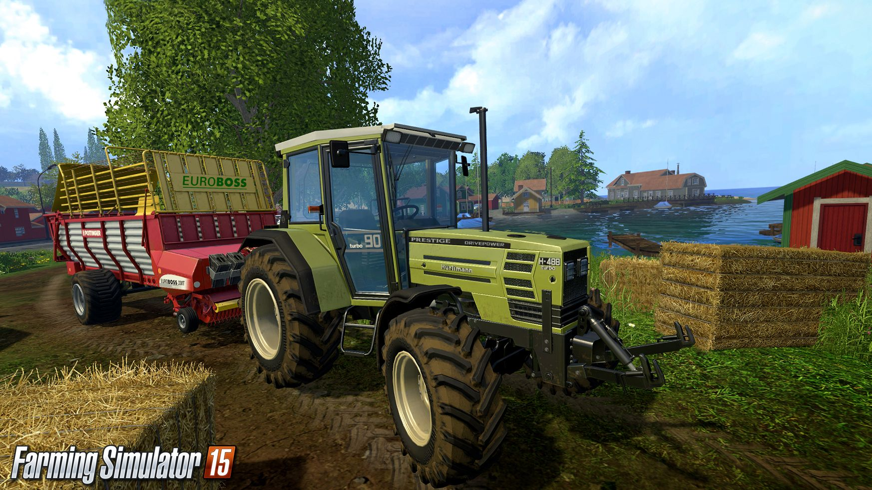 Видео Launch Trailer Farming Simulator 15, Farming Simulator 2015