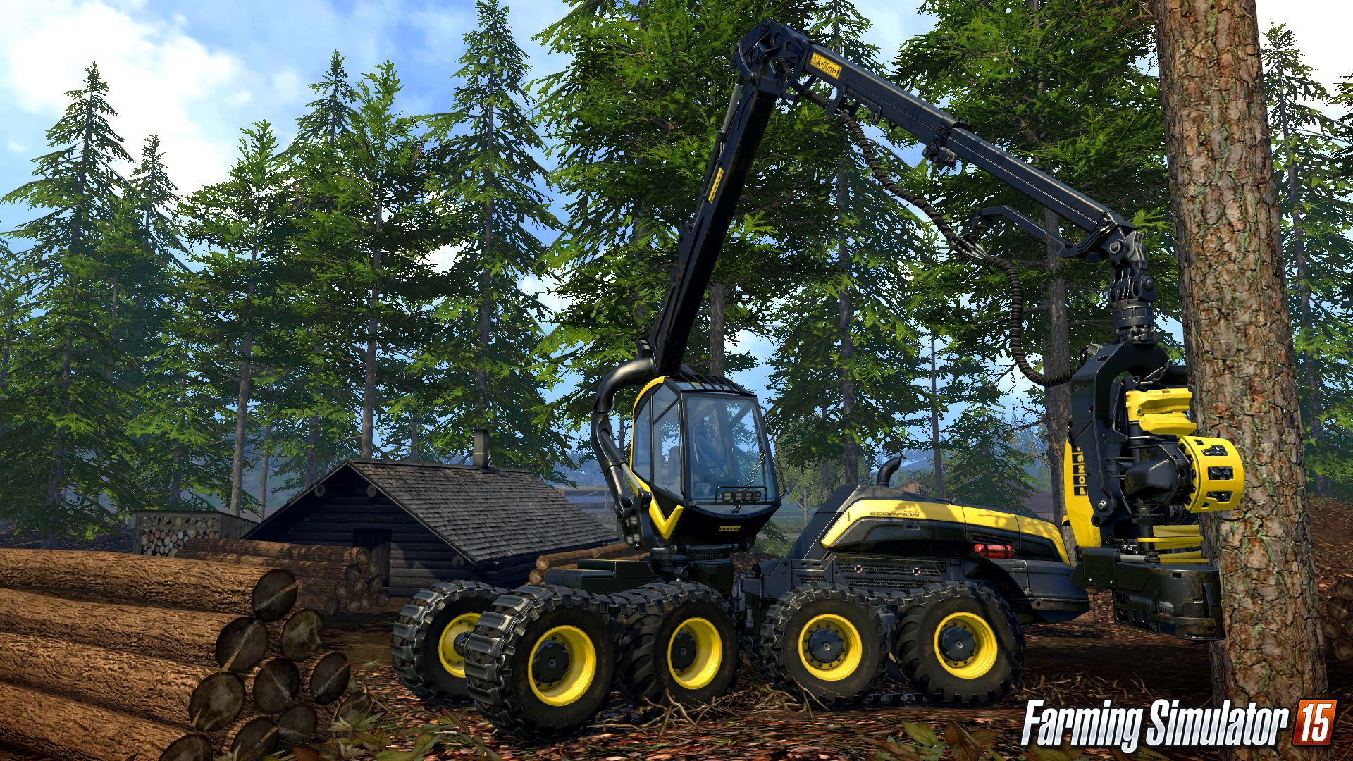 Видео #3 Video GamePlay Farming Simulator 15, Farming Simulator 2015