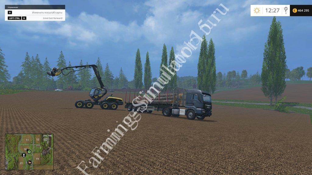 скачать моды для Farming Simulator 2015 реальное время - фото 4