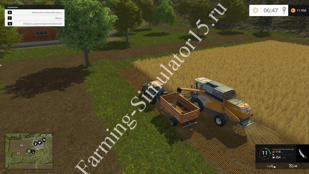 Карта Hagenstedt v 1.0 Farming Simulator 15, 2015