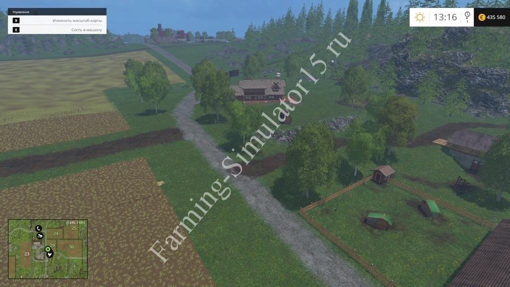 Мод Player Camera Farming Simulator 15, 2015