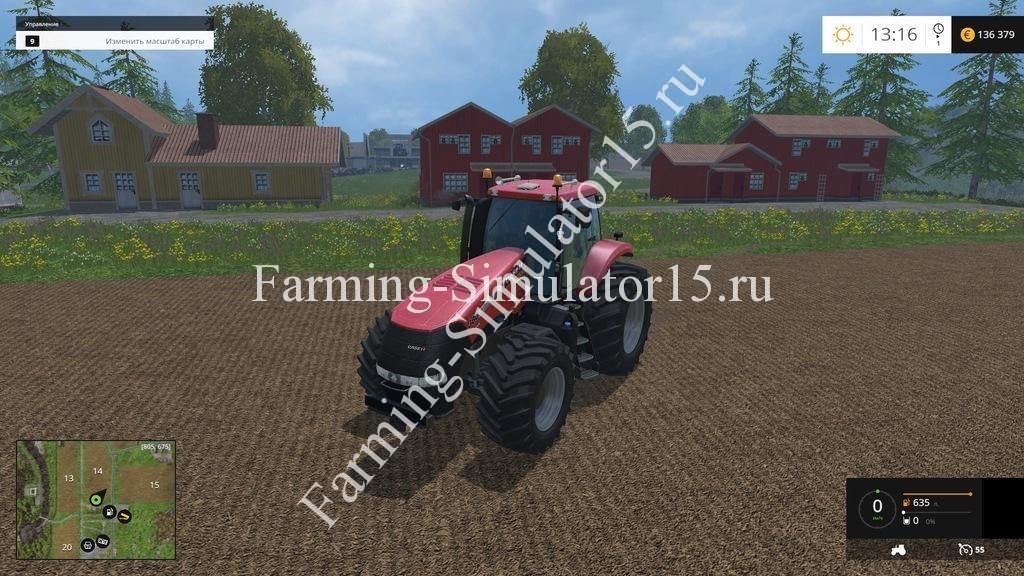 Мод трактора Case IH Magnum 380cvx v 1.0 Farming Simulator 15, 2015