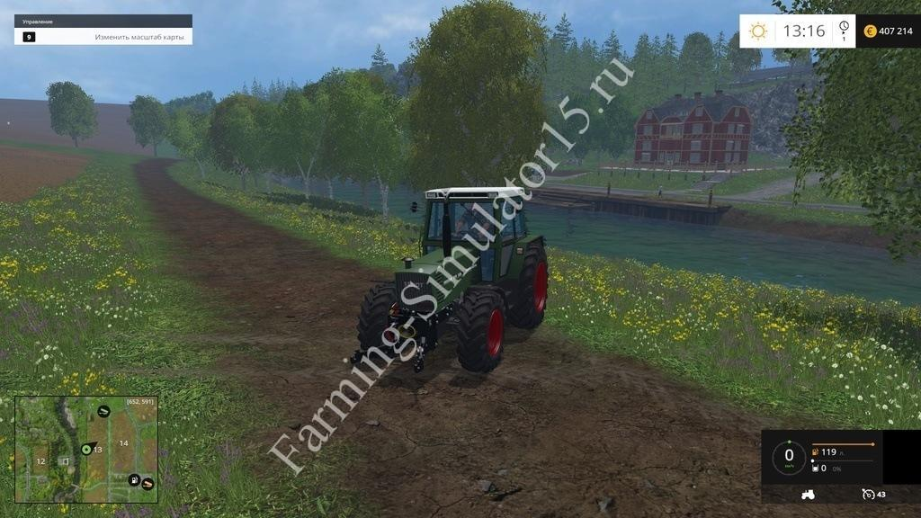 Fendt Farmer 310 LSA v 1.1.1 Farming Simulator 15, 2015