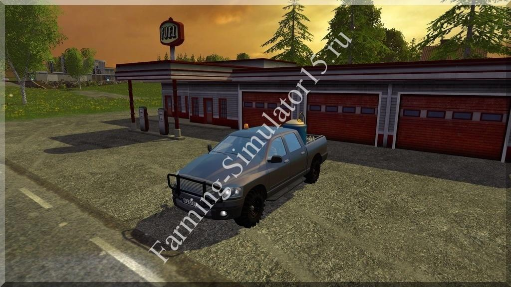 Мод легкового авто Dodge Ram Service v 1.0 Farming Simulator 15, 2015
