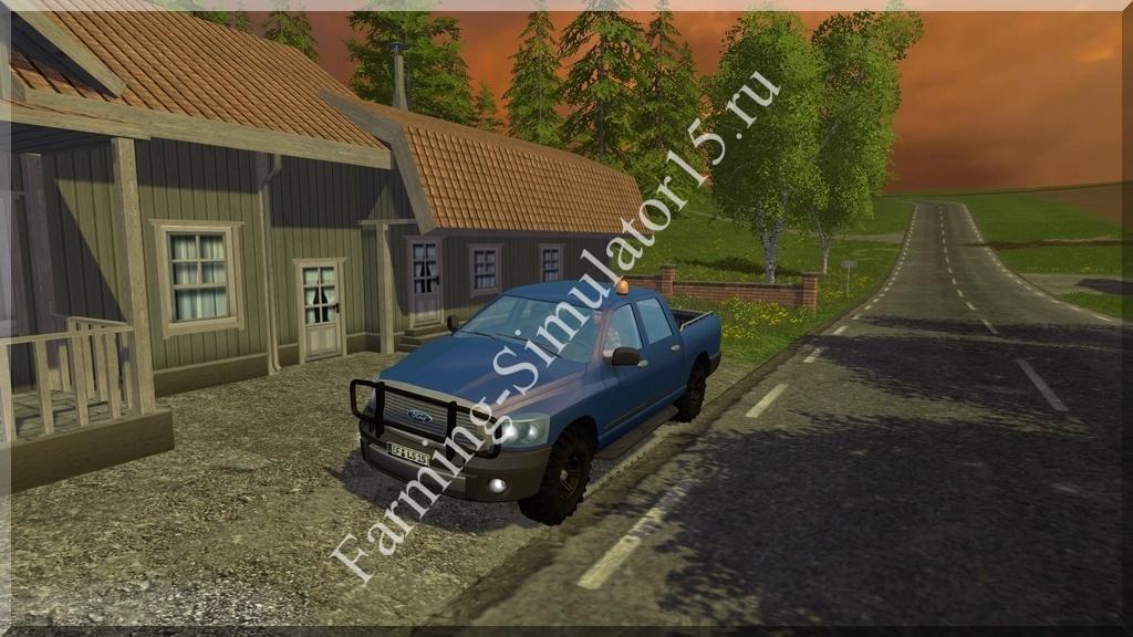 Мод легкового авто Ford Pickup v 1.2 Farming Simulator 15, 2015