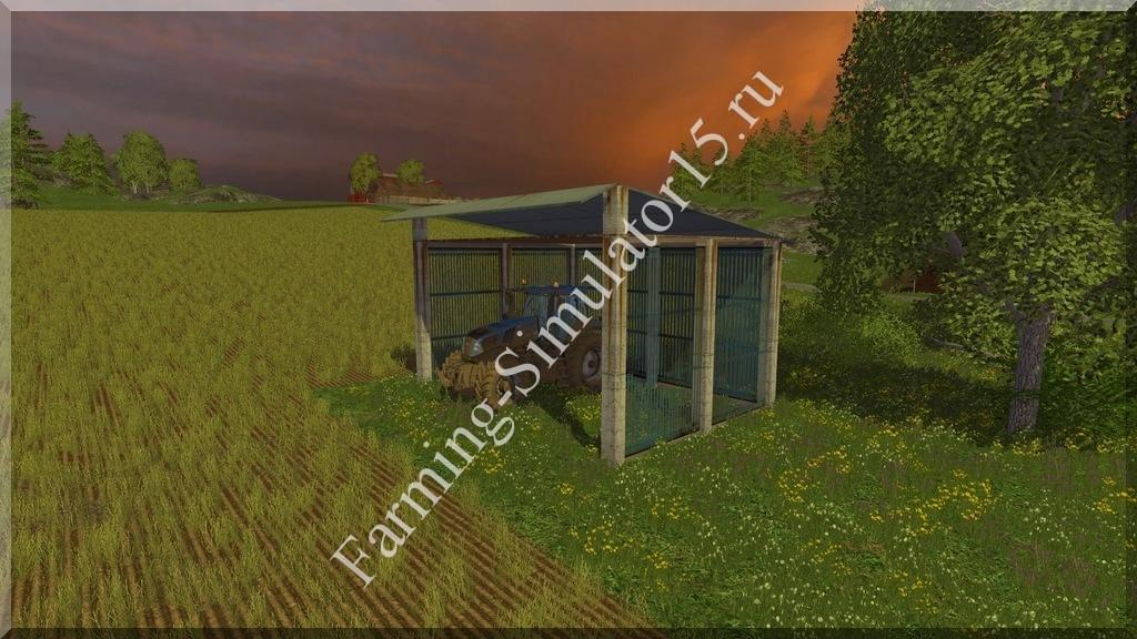 Мод Shed v 2.0 Placeable Farming Simulator 15, 2015